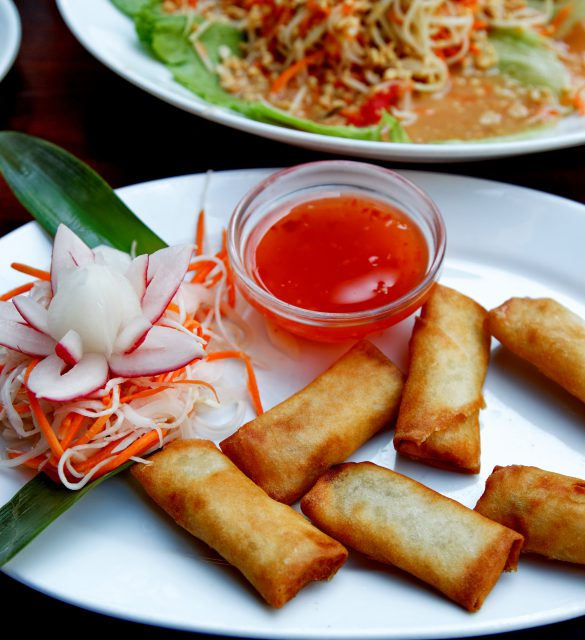 Nems au restaurant thalandais.